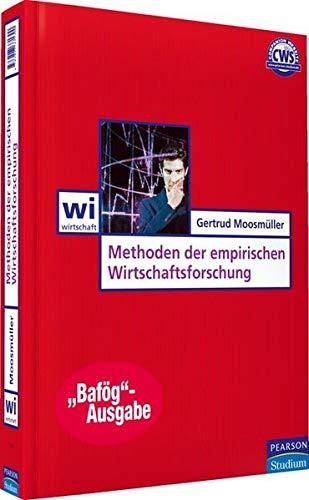 9783827373397: Methoden der empirischen Wirtschaftsforschung