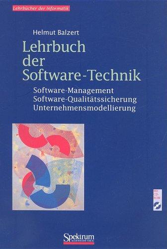 9783827400659: Lehrbuch der Software-Technik: Software-Management/Software-Qualitatssicherung Unternehmensmodellierung (Springers Lehrbucher Der Informatik)