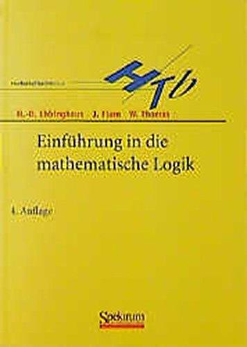 9783827401304: Einfa1/4hrung in Die Mathematische Logik (Sav Mathematik)