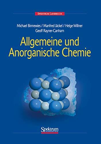 9783827402080: Allgemeine und Anorganische Chemie
