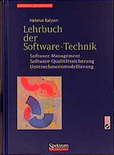 Lehrbuch der Software-Technik Bd. 1 und 2: (1997-2000), inkl. CD-ROMs [Gebundene Ausgabe] von Helmut Balzert (Autor) - Helmut Balzert (Autor)