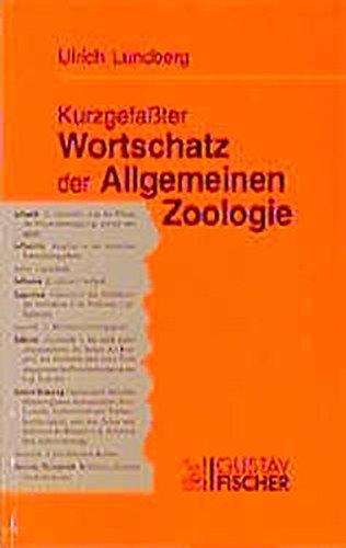 9783827406712: Kurzgefasster Wortschatz der Allgemeinen Zoologie (German Edition)