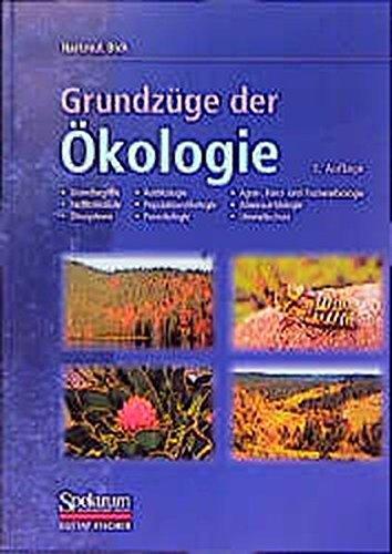 9783827408006: Grundzüge der Ökologie (German Edition)
