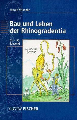 9783827408075: Bau Und Leben Der Rhinogradentia