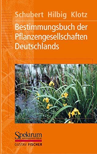 9783827409157: Bestimmungsbuch der Pflanzengesellschaften Deutschlands