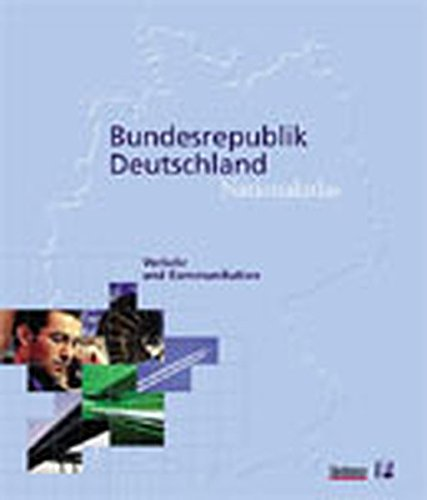 9783827409416: Nationalatlas, Verkehr und Kommunikation, Buch: Traffic and Communication
