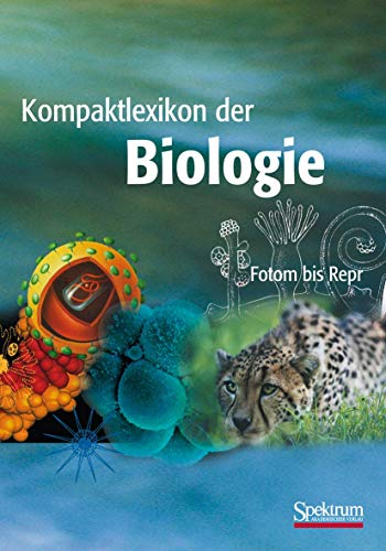 9783827410405: Kompaktlexikon der Biologie - Band 2: Foton bis Repr (German Edition)