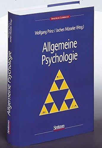 9783827411280: Allgemeine Psychologie