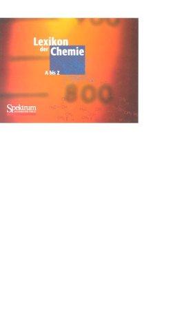 9783827411525: Lexikon der Chemie: Studienausgabe auf 1 CD-ROM (German Edition)