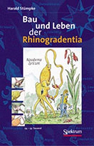 9783827411969: Bau und Leben der Rhinogradentia (German Edition)
