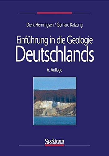 9783827413604: Einführung in die Geologie Deutschlands (German Edition)