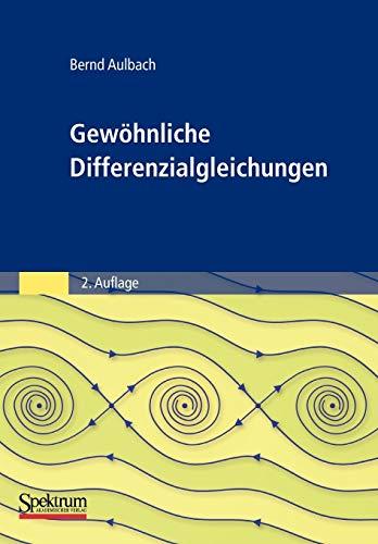 9783827414922: Gewöhnliche Differenzialgleichungen
