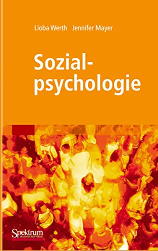 9783827415479: Sozialpsychologie (Sav Psychologie) (German Edition)