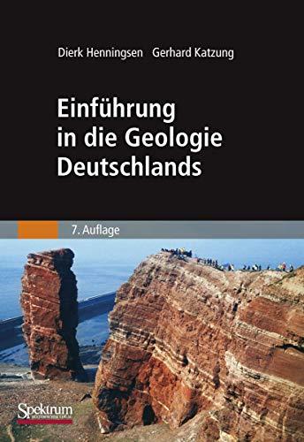9783827415868: Einführung in die Geologie Deutschlands
