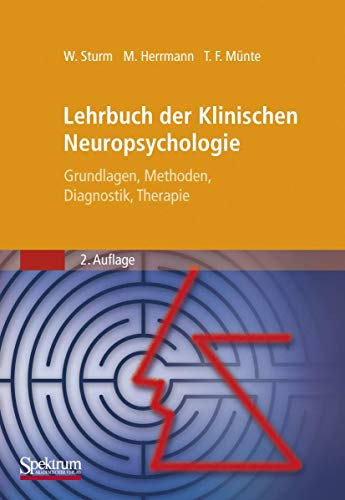 9783827416124: Lehrbuch Der Klinischen Neuropsychologie: Grundlagen, Methoden, Diagnostik, Therapie