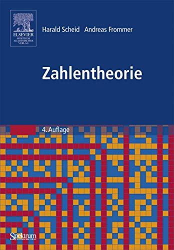 9783827416926: Zahlentheorie (German Edition)
