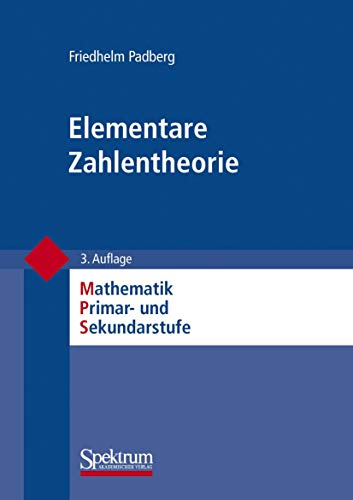 9783827417596: Elementare Zahlentheorie (Mathematik Primar- Und Sekundarstufe)