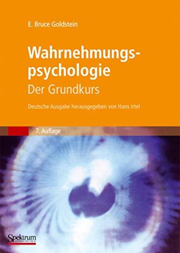 9783827417664: Wahrnehmungspsychologie: Der Grundkurs (German Edition)