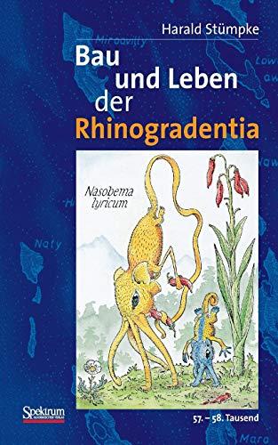 9783827418401: Bau Und Leben Der Rhinogradentia: 56. - 57. Tausend