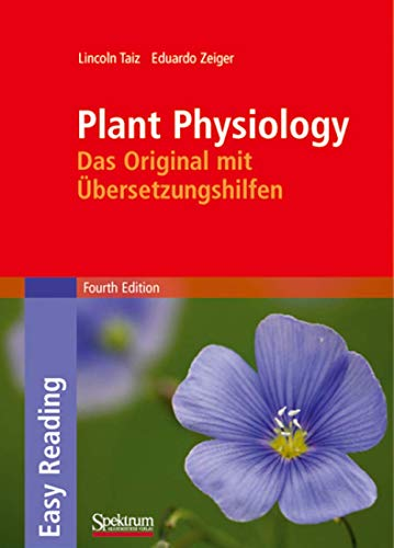 9783827418654: Plant Physiology: Das Original mit Übersetzungshilfen (Sav Biologie) (German and English Edition)