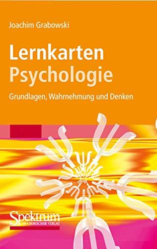 9783827418913: Lernkarten Psychologie: Grundlagen, Wahrnehmung und Denken (Sav Psychologie) (German Edition)