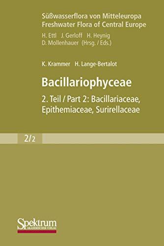 Süßwasserflora Von Mitteleuropa, Bd. 02/2: Bacillariophyceae: Teil: Krammer Kurt