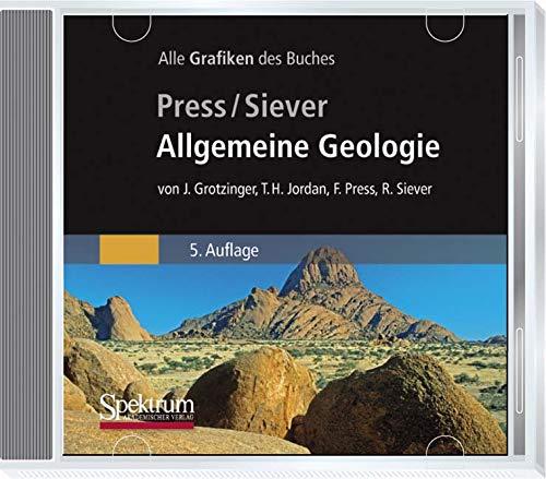 9783827419590: Bild-CD-ROM, Allgemeine Geologie: Die Abbildungen des Buches (German Edition)