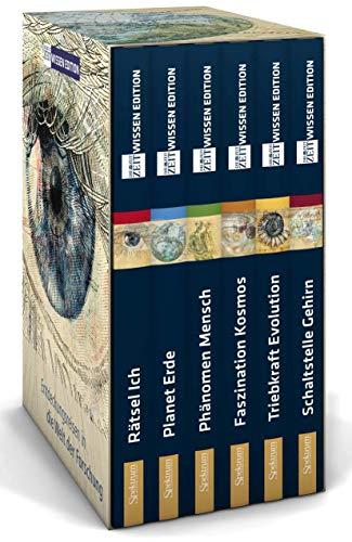 9783827424013: ZEIT WISSEN Edition (Schuber): Entdeckungsreisen in die Welt der Forschung - in sechs Bänden (Rätsel Ich, Planet Erde, Phänomen Mensch, Faszination Kosmos, Triebkraft Evolution, Schaltstelle Gehirn)