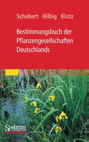 9783827425843: Bestimmungsbuch der Pflanzengesellschaften Deutschlands