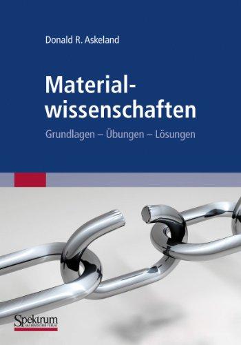9783827427410: Materialwissenschaften (German Edition)