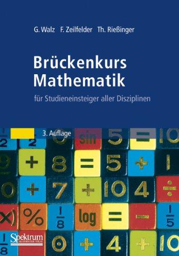 9783827427632: Brückenkurs Mathematik: für Studieneinsteiger aller Disziplinen