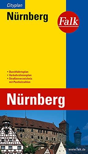 Falk-Plan Cityplan Nürnberg. - N.V.