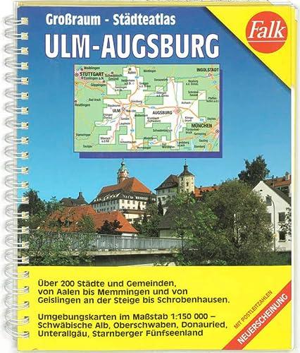 9783827903068: Ulm /Augsburg. Stadtatlas