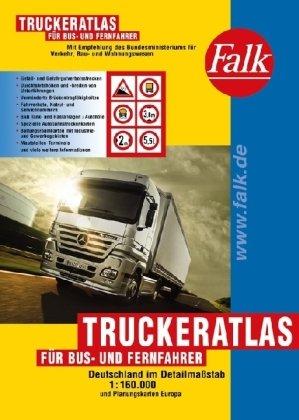9783827903822: Falk Truckeratlas für Bus- und Fernfahrer.