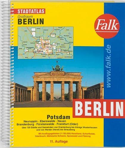9783827904843: Berlin Street Atlas (Stadtatlas Grossraum Berlin) (Falk-Stadtatlas)