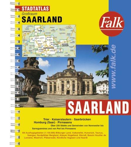 9783827905147: Saarland e.o. kaartboek: Grossraum