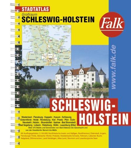 9783827905161: Falk Stadtatlas Großraum Schleswig-Holstein