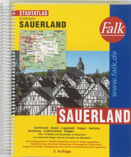 9783827905246: Falk Stadtatlas Großraum Sauerland 1 : 20 000