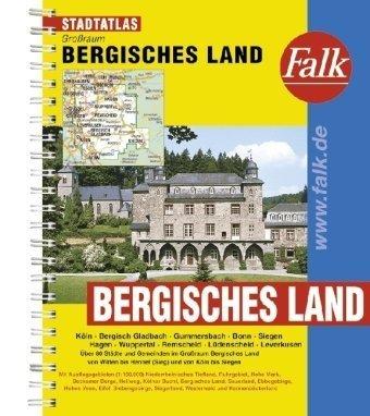 9783827905253: Falk Stadtatlas Großraums Bergisches Land 1 : 20 000: Köln, Bergisch Gladbach, Gummersbach, Bonn, Siegen, Hagen, Wuppertal, Remscheid, Lüdenscheid, ... Siegerland, Westerwald und Kannenbäckerland