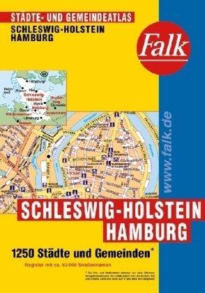 9783827906090: Falk Städte- und Gemeindeatlas Schleswig-Holstein und Hamburg.