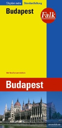 9783827911032: Boedapest Extra plattegrond