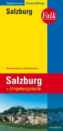 9783827911179: SALZBURG EXTRA PLATTEGROND
