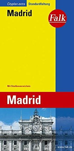 Madrid plattegrond (Falkplan Extra) - Collectif