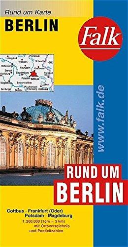 Falk Rund um Karte Rund um Berlin