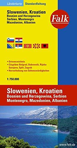 9783827918451: Slowenien Kroatien : 1/750 000