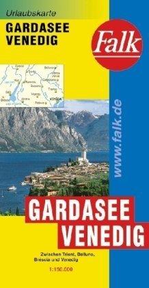 9783827918505: Gardameer autokaart (Falkplan Urlaubskarte)