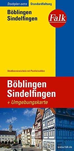 9783827922298: Falk Stadtplan Extra Standardfaltung Böblingen / Sindelfingen