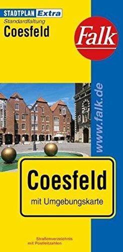 9783827922540: Falk Stadtplan Extra Coesfeld mit Umgebungskarte