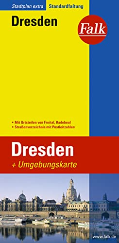 9783827922748: Falk Stadtplan Extra Dresden mit Umgebungskarte