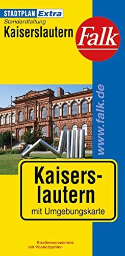 Kaiserslautern : mit Umgebungskarte ; mit Ortsteilen von Landstuhl, Otterberg, Ramstein-Miesenbach,...